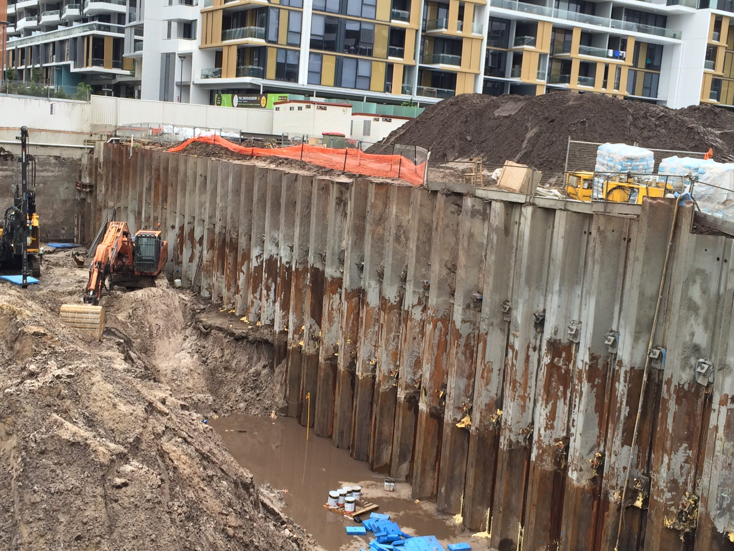 Embedded Shoring Walls – Ground Works Series (1)