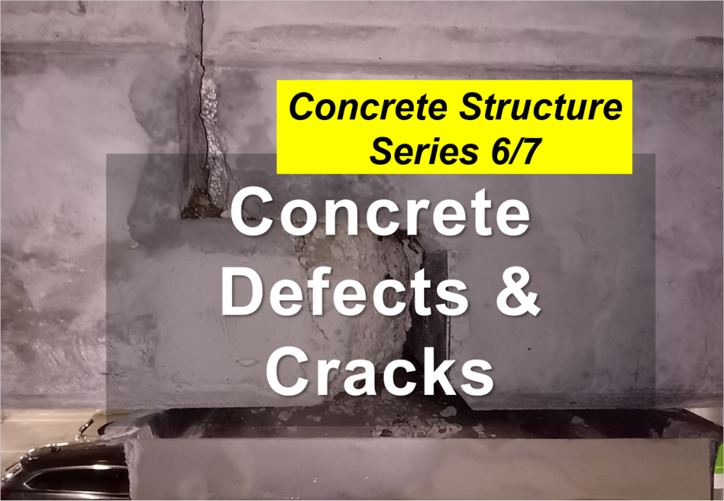 concrete defects & cracks
